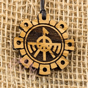 Оберег символ Семаргла