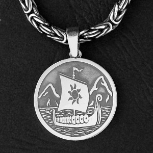 Амулет из серебра с мыслефорой
